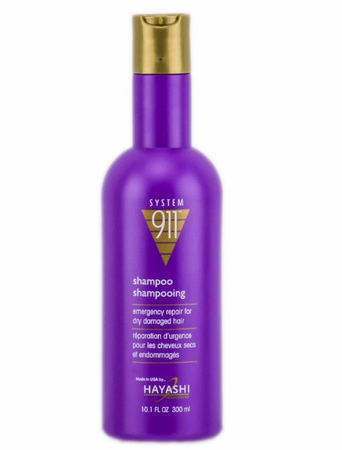 Hayashi System 911 Shampoo for Dry and Damaged Hair 10.1 oz