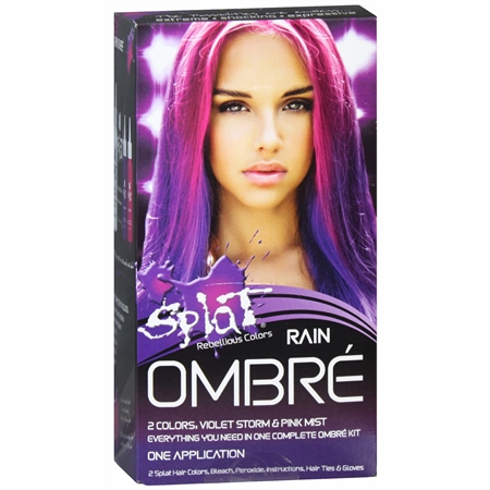 Splat Rebellious Colors Complete Kit Ombre Rain