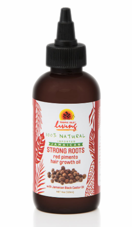 Tropic Isle Living Strong Roots Red Pimento Hair Growth Oil 4 oz