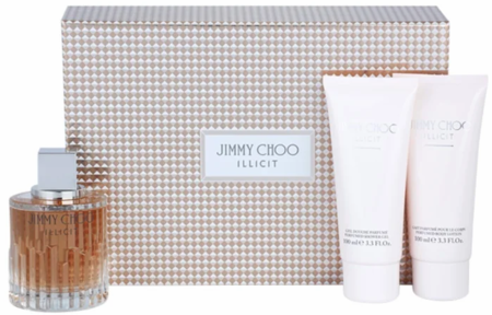 Illicit by Jimmy Choo for Women 3 Piece Fragrance Gift Set 2018