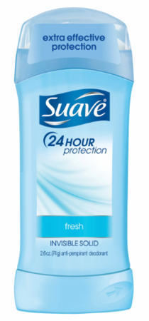 Suave Anti-Perspirant Deodorant Invisible Solid Fresh 2.6 oz