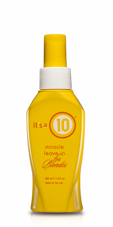 It's a 10 Miracle Leave-In For Blondes 4 oz