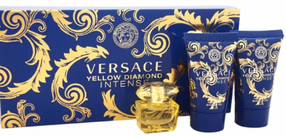 Yellow Diamond Intense by Versace for Women 3 Piece Fragrance Gift Set 2018