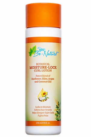 You Be-Natural Botanical Moisture-Lock Curl Lotion 8 oz