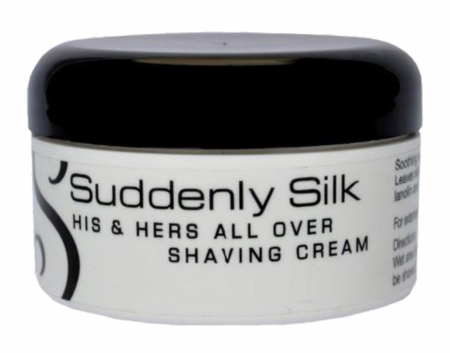 Suddenly Silk His & Hers All Over Shave Cream 8 oz