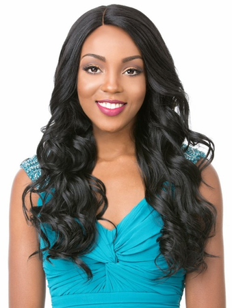It's a Wig Bundle Loose Body Lace Front Wig Human Hair Blend