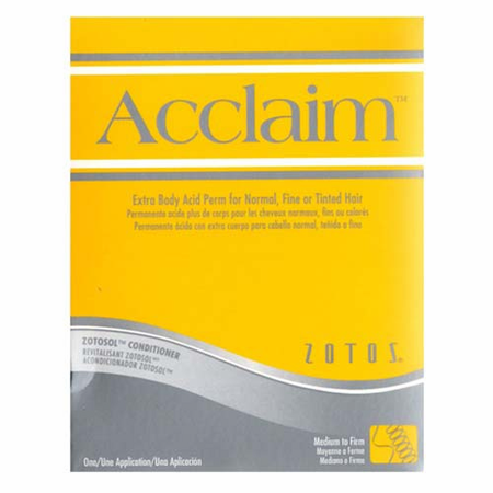 Zotos Acclaim Extra Body Acid Perm Normal/Fine/Tinted Hair