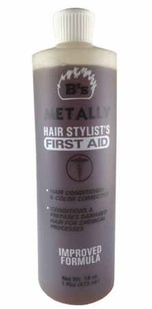 B's Metally Hair Stylist's First Aid Color Corrective 16 oz
