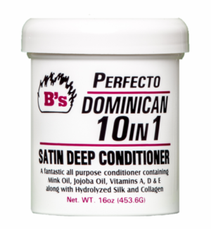 B's Perfecto Dominican 10 In 1 Satin Deep Conditioner 16 oz