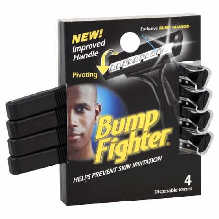 Bump Fighter Razors Disposable 4 razors