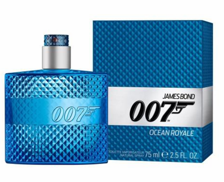 James Bond 007 Ocean Royale by James Bond Fragrance for Men Eau de Toilette Spray 2.5 oz 2018