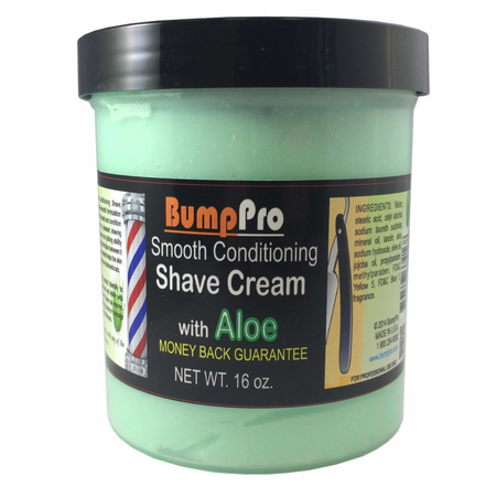 BumpPro Smooth Conditioning Shave Cream With Aloe 16 oz