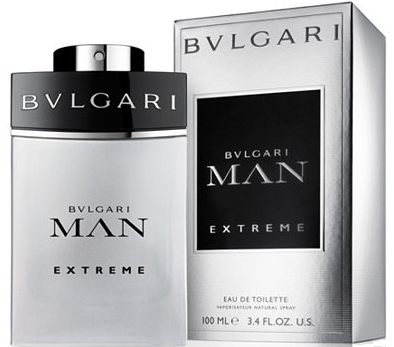 Bvlgari Man Extreme by Bvlgari Fragrance for Men Eau de Toilette Spray 3.4 oz 2018