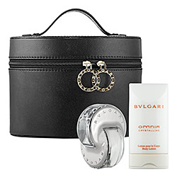 Omnia Crystalline By Bvlgari For Women 3 Piece Fragrance Gift Set 2018