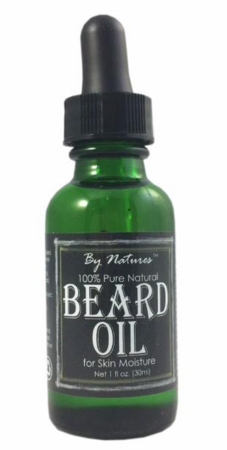 By Natures 100% Pure Natural Beard Oil 1 oz