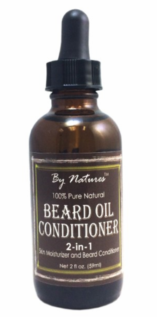 By Natures 100% Pure Natural Beard Oil Conditioner 2 oz