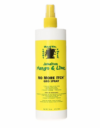 Jamaican Mango & Lime No More Itch Gro Spray 16 oz