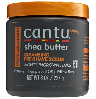 Cantu Men's Shea Butter Cleansing Pre Shave Scrub 8 oz