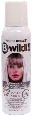 Jerome Russell BWild!! Temporary Color Spray Siberian White 3.5 oz