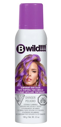 Jerome Russell BWild!! Temporary Color Spray Panther Purple 3.5 oz