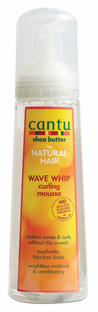 Cantu Shea Butter Wave Whip Curling Mousse 8.4 oz
