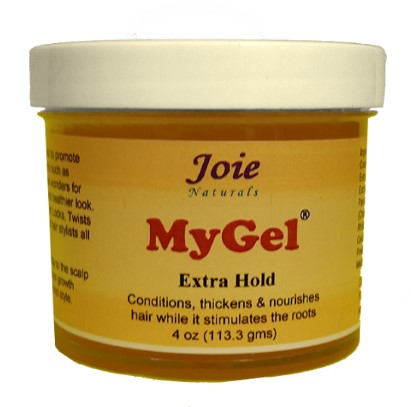 Joie Naturals MyGel Styling Gel Extra Hold 4oz