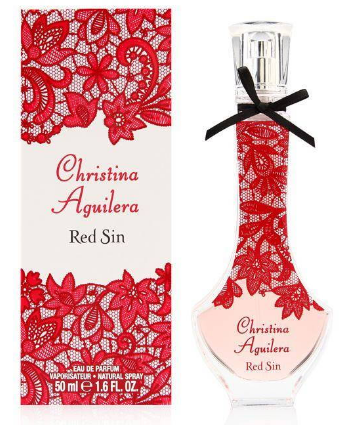Red Sin by Christina Aguilera Fragrance for Women Eau de Parfum Spray 1.6 oz 2018