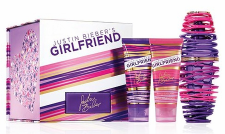Girlfriend by Justin Bieber For Women 3 Piece Fragrance Gift Set 2018