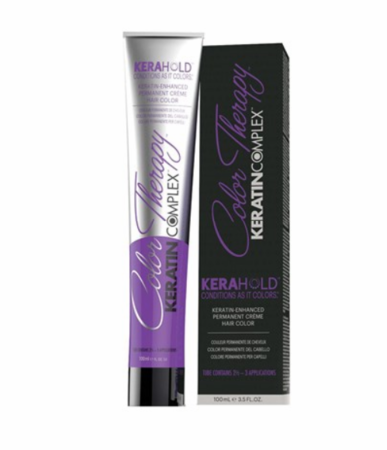 Keratin Complex Color Therapy Kerahold Permanent Hair Color 3.5 oz