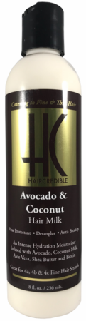Haircredible Avocado & Coconut Hair Milk 8oz