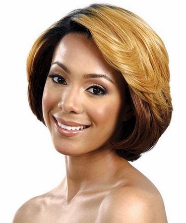 Bobbi Boss Candy Pink Lace Front Wig Synthetic