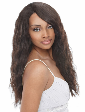 Janet Collection 100% Natural Indian Virgin Remy Human Hair Wig