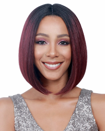Bobbi Boss April Swiss Lace Front Wig Synthetic