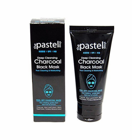 The Pastel Shop Deep Cleansing Charcoal Black Mask 1.7oz