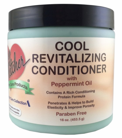 Barry Fletcher Moisture Therapy Cool Revitalizing Conditioner with Peppermint Oil 16 oz