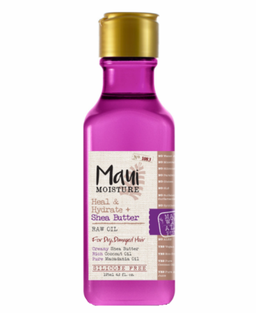 Maui Moisture Raw Oil Heal & Hydrate + Shea Butter for Dry Hair - 4.2oz