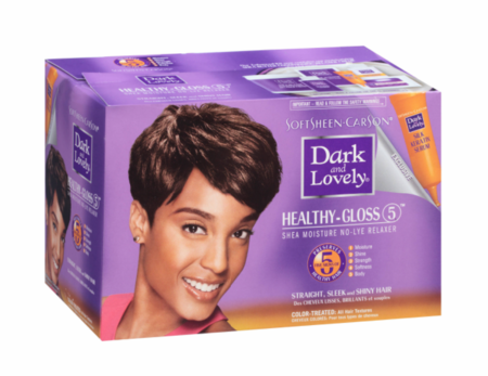 Dark and Lovely Relaxer Healthy Gloss Color Treated