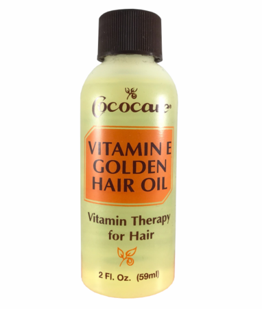 Cococare Vitamin E Golden Hair Oil 2oz