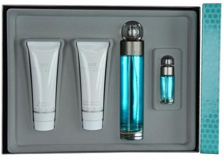 360 Perry Ellis By Perry Ellis For Men 4 Piece Fragrance Gift Set 2018