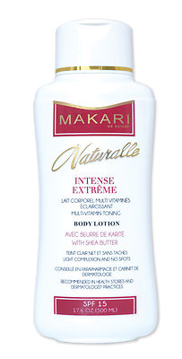 Makari Naturalle Intense Extreme Toning Body Lotion 17.6 oz / 500ml