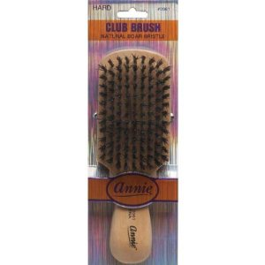 Annie Club Brush Hard Natural Boar 2061