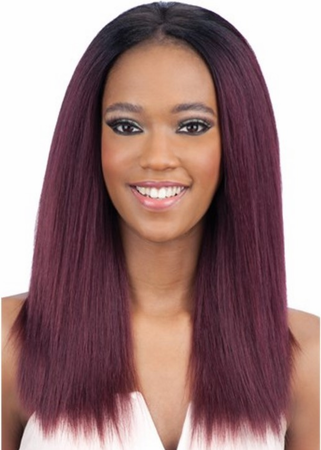 Model Model Pose Peruvian Blow Out Texture Straight 7 Piece 12