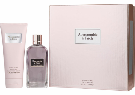 First Instinct by Abercrombie & Fitch for Women 2 Piece Fragrance Gift Set 2018