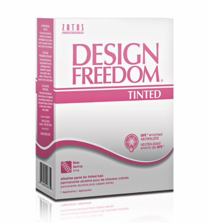 Design Freedom Tinted Perm firm and resilient curls