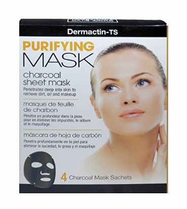 Dermactin-TS Purifying Mask with Charcoal 4 count