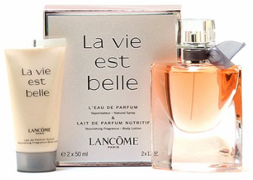 La Vie est Belle by Lancome for Women 2 Piece Fragrance Gift Set 2018