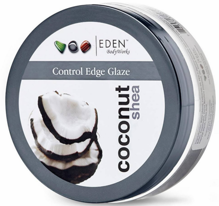 Eden Body Works Coconut Shea Control Edge Glaze 6 oz