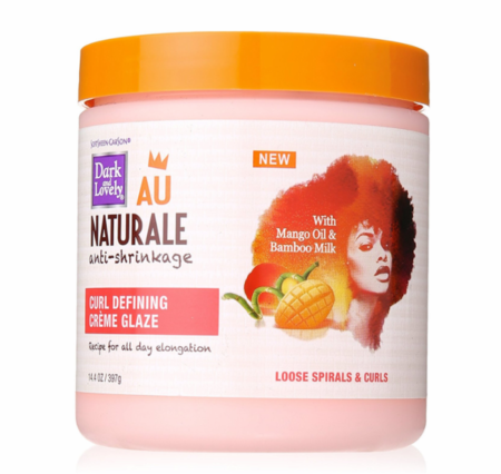 Dark And Lovely Au Naturale Curl Defining Creme Glaze 14.4 oz