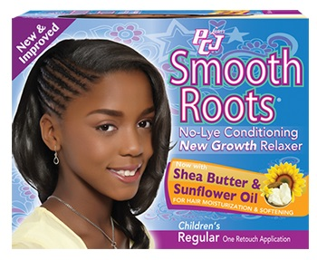 Luster's PCJ Smooth Roots No-Lye Conditioning New Growth Relaxer Regular