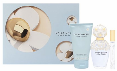 Daisy Dream by Marc Jacobs for Women 3 Piece Fragrance Gift Set 2018
